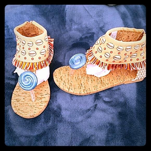 Girls Disney Moana Sandals   Poshmark